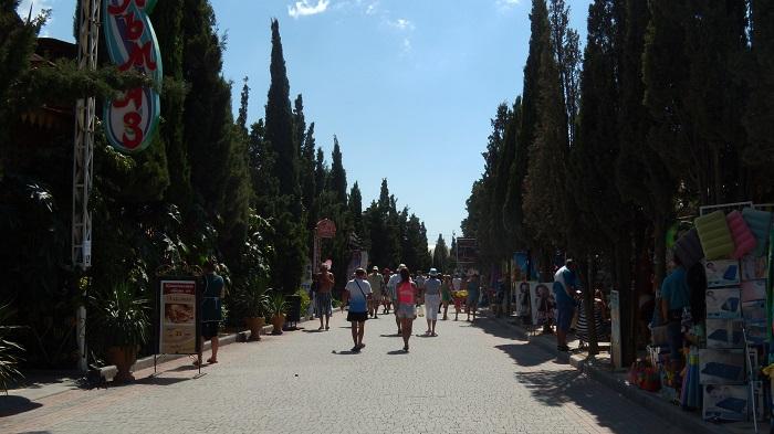 kyparysovaya alleya